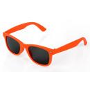 Großhandel Sonnenbrillen: Kinder Wayfarer Sonnenbrille Orange