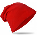 Großhandel Fashion & Accessoires: Kinder Beanie Mütze Unifarbe Rot M