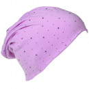 wholesale Fashion & Mode: Beanie Lilac Crystal Rivets