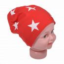 wholesale Headgear: Children Beanie Small Star Red L
