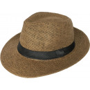 wholesale Party Items: Panama Hat Bogart Straw Hat Brown 56