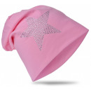 ingrosso Cappelli: I bambini Beanie strass star Pink XL