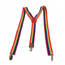 wholesale Belts: Long suspenders Y  shape Style Stained 08