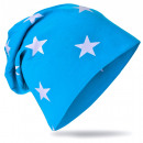 wholesale Headgear: Children Beanie  Small Star Light Blue XL