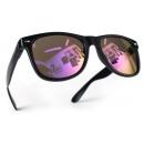 ingrosso Occhiali da sole: Occhiali da sole Nerd Nero Viola
