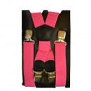 wholesale Fashion & Apparel: Long Carrier X Shape 4cm Wide Pink
