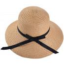 ingrosso Cappelli: Onorevoli cappello di paglia Brown