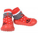 wholesale Shoes: Baby Slippers Anchor Red 20