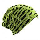 wholesale Headgear: Beanie Destroyed Light Green