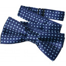 wholesale Ties: Fly children boys blue dots