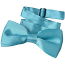 wholesale Ties: Fly children boys turquoise