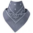 Bandana Paisley grigio