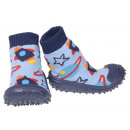 wholesale Shoes: Baby Slippers Rocket Blue 22