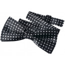 wholesale Ties: Fly children boys black dots