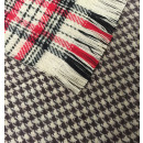 Winter Plaid Scarf Beige