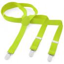 wholesale Belts: Braces Y Shape XXXL Neon Yellow
