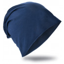 Beanie Mütze Unifarbe Dunkelblau