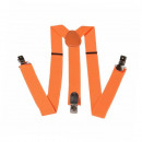wholesale Belts: Long Suspender Y  Form Style Unifarbe Neonorange