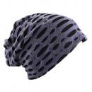 wholesale Headgear: Beanie Destroyed Perlviolett