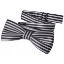 wholesale Ties: Bow Tie Kids Boys Gray Lined