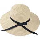 ingrosso Cappelli: Onorevoli cappello di paglia beige