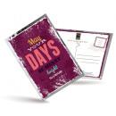 grossiste Cartes de vœux: Carte postale de  thé et aussi - Puissiez Vous êtes