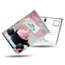 Großhandel Geschenkartikel & Papeterie: Postkarte Tee und  auch - glückliche Tag der Mutter
