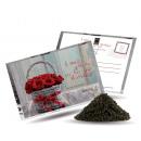 Postkarte Tee und  ein - kleines Geschenk für Sie