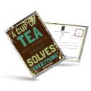 groothandel Stationery & Gifts: Postcard Thee en één - de kop thee