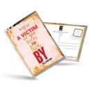 grossiste Cartes de vœux: Carte postale de  thé et aussi - vous êtes victime