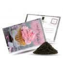 grossiste Cartes de vœux: Carte postale Thé  et aussi - Petit cadeau d'an