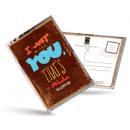 grossiste Cartes de vœux: Carte postale de  thé et aussi - I Just Miss You
