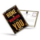 Postcard Thee en één - Thuis is Waar