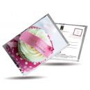 grossiste Cadeaux et papeterie: Thé carte postale  et aussi - Happy Birthday