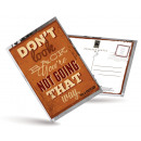 wholesale Gifts & Stationery: Postcard Tea and  also - Do not Look Back