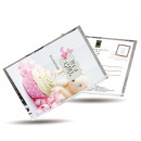 wholesale Gifts & Stationery: Postcards and Tea  in one - it's a Girl