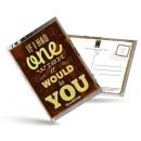 grossiste Cartes de vœux: Carte postale de  thé et aussi -Si j'ai eu un s