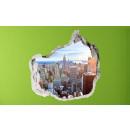 Großhandel Bilder & Rahmen: 3D Wand - New York Skyline