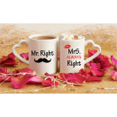 Cups for couples - Mr Mrs Right