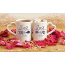 Tassen für Paare - Nur du und ich