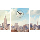 Großhandel Uhren & Wecker: WANDUHR CANVAS 60 NYC DOWNTOWN