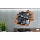grossiste Stickers mureaux:Murale 3D - Manhattan
