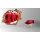 groothandel Wandtattoos: Muurschildering 3D - Telefoon