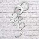 grossiste Horloges & Reveils: HORLOGE MURALE  MIROIR HAE VISION CLOCK 37x70