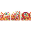 wholesale Home & Living: WALL CLOCK CANVAS 35 CANDY
