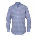 RALPH LAUREN BLUE SHIRT MEN multicolour