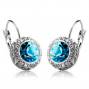 Earrings created with Swarovski® and Zircon crysta