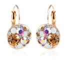 Earrings created  with Swarovski® crystal.