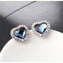 wholesale Earrings: HEART earrings created with Swarovski® crystal.