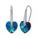 S925 silver earrings with Swarovski® crystal.